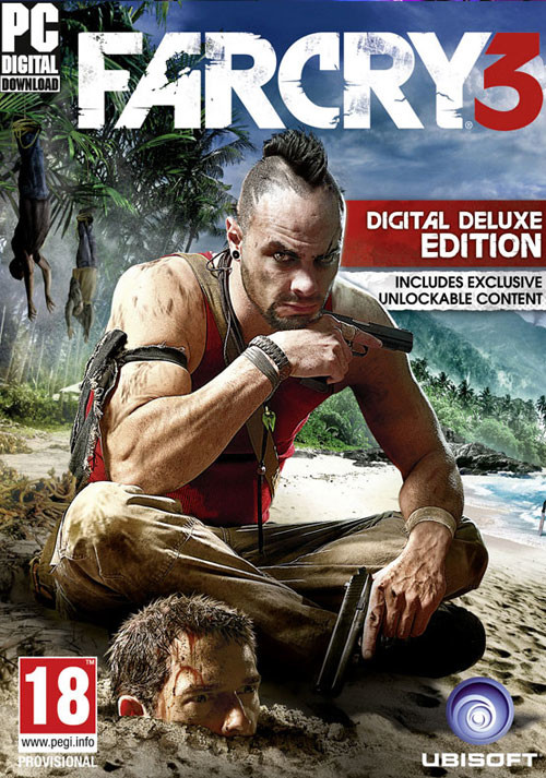 Far Cry 3 - Deluxe Edition - Cover