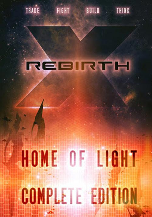 X Rebirth Complete - Cover