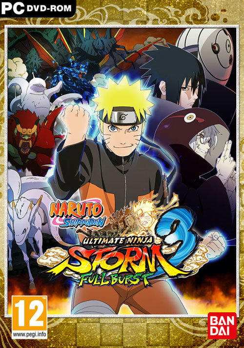 NARUTO SHIPPUDEN: Ultimate Ninja STORM 3 - Full Burst HD - Cover
