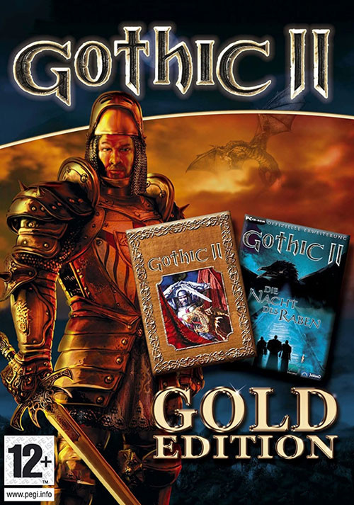 Gothic 2 Gold - Cover