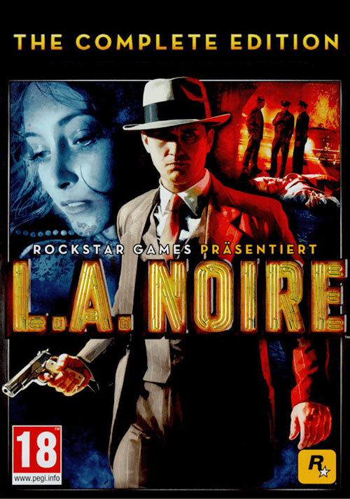L.A. Noire: The Complete Edition - Cover