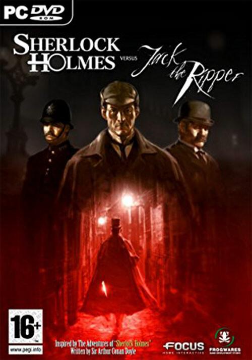 Sherlock Holmes versus Jack the Ripper - Cover