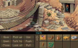 Screenshot1 - Indiana Jones and the Fate of Atlantis