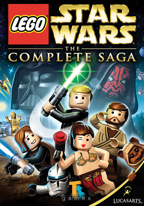 LEGO Star Wars: The Complete Saga - Cover