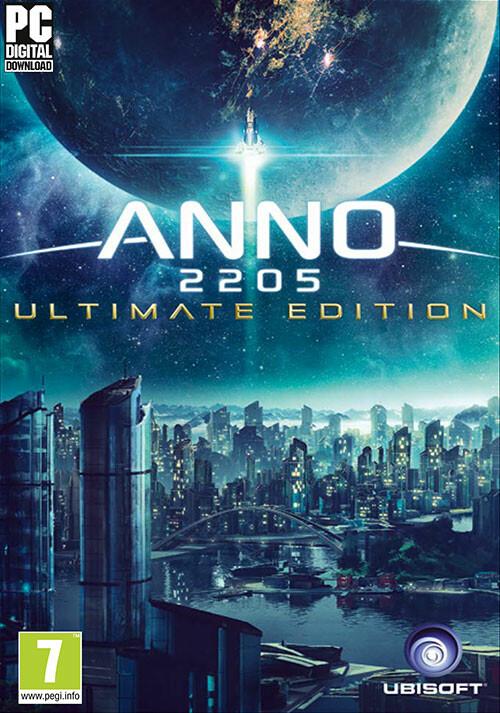 Anno 2205 Ultimate Edition - Cover