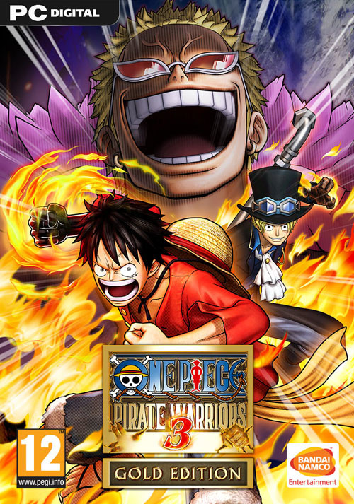 One Piece Pirate Warriors 3 Gold Edition - Cover
