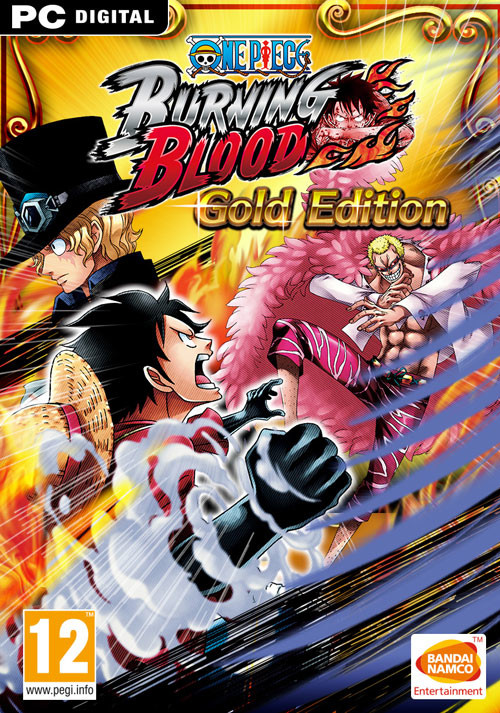 One Piece Burning Blood Gold Edition - Cover