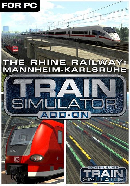 Train Simulator: The Rhine Railway: Mannheim - Karlsruhe Route Add-On - Cover