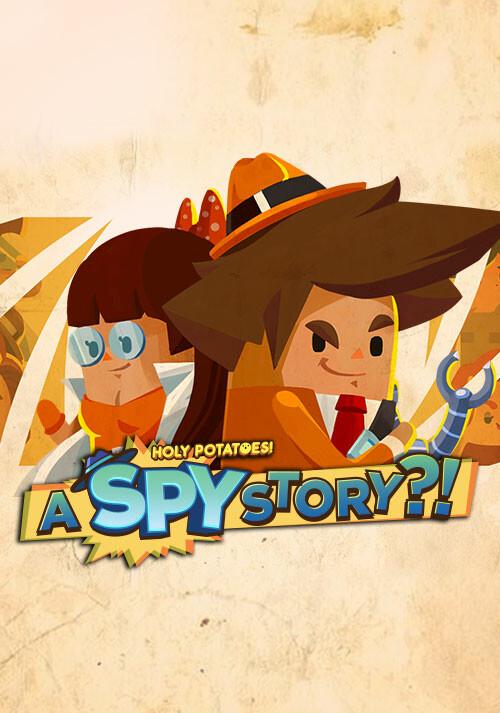 Holy Potatoes! A Spy Story?! - Cover