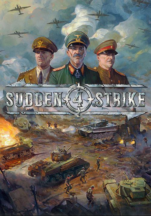 Sudden Strike 4 - Cover